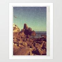 California Sealine Art Print