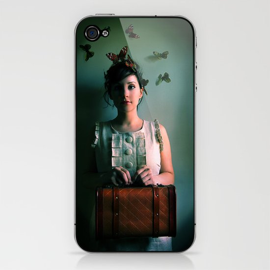 The Escape Artist iPhone & iPod Skin
