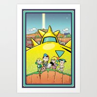 We Are Earthbound Art Print