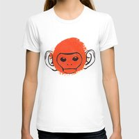 monkey T-shirts featuring Monkey by James White
