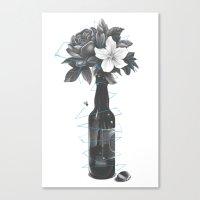 Buzzed Canvas Print