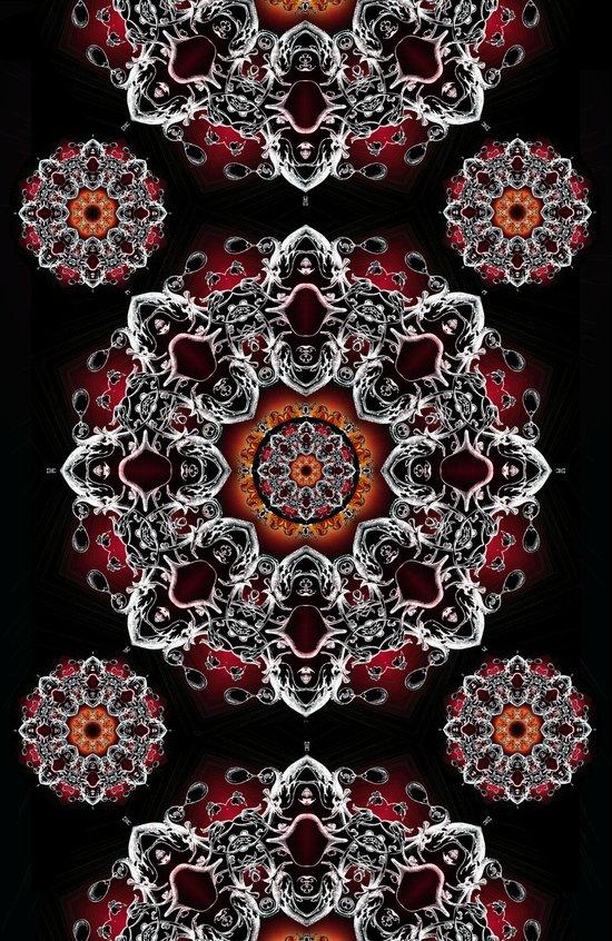 Power Mandala Art Print