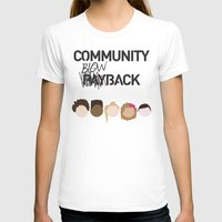 community T-shirts featuring Community Blowback by The Kid
