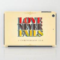Love Never Fails! iPad Case