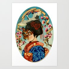 The Exploitation of Butterfly Art Print