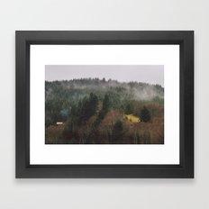 Home in the Woods Framed Art Print