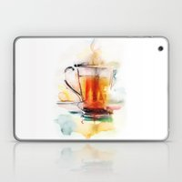 Black tea Laptop & iPad Skin
