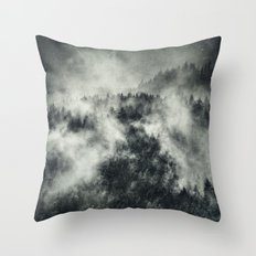 Recently // Dark Boogie Edit Throw Pillow