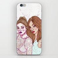 Gigi Hadid & Jourdan Dun… iPhone & iPod Skin