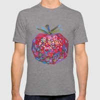 Tomato (Tomate) Mens Fitted Tee Tri-Grey SMALL