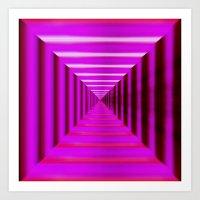 Purple Abyss Art Print