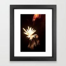 Celestial Pollination Framed Art Print