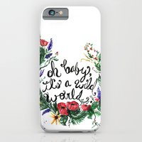 Wild World iPhone 6 Slim Case