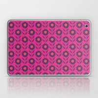 Retro Bloom Purple 7 Laptop & iPad Skin