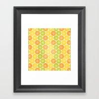 Zesty Slice Framed Art Print