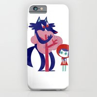 Red Riding Hood - tricolor version iPhone 6 Slim Case