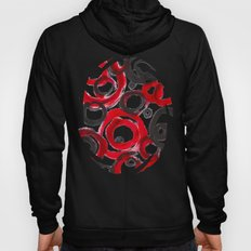 Circles Abstract Hoody