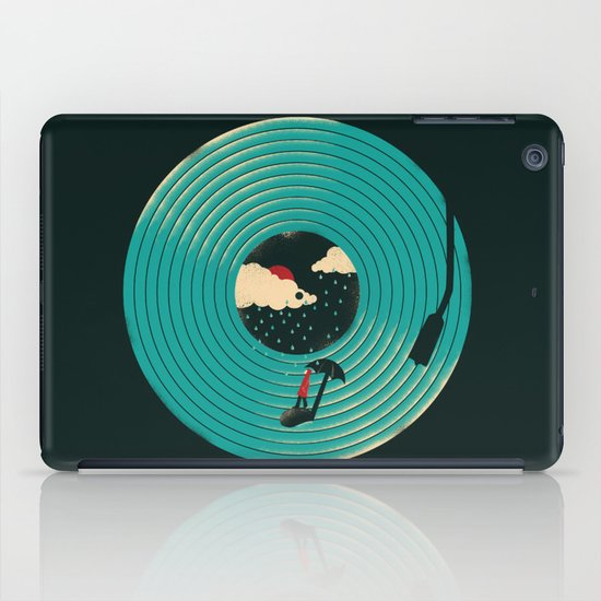 Songs for a Rainy Day iPad Case
