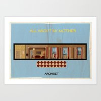All about my mother_ Directed by Pedro Almodóvar Art Print