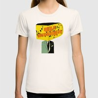 Hello Wisconsin Womens Fitted Tee Natural SMALL