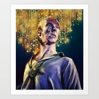 Frankenstein's Creature Art Print