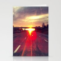 Highway to Heaven Stationery Cards