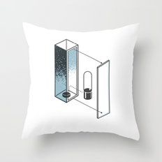 The Exploded Alphabet / I Throw Pillow