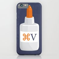 iPhone & iPod Case featuring Command Paste by Brandon Ortwein
