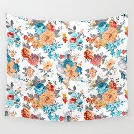 Wall Tapestry - Seamless Floral Pattern - Eduardo Doreni