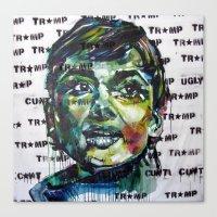 tramp star Canvas Print