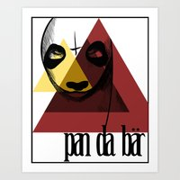 Pandabär Art Print