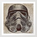 Vincent Stormtrooper Art Print