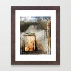 Archangel Haniel Framed Art Print