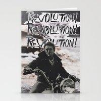REVOLUTION! REVOLUTION! … Stationery Cards
