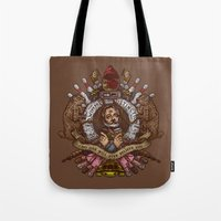 Murray crest Tote Bag