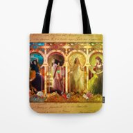 Joy Faith Hope And Love Tote Bag