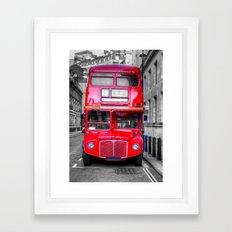 London Routemaster Framed Art Print