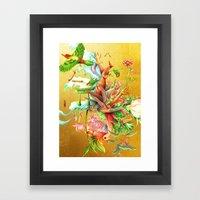 生まれサークル Um… Framed Art Print