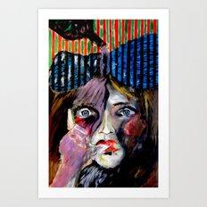 Thumb Sucker Art Print