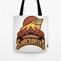 Tatooine SandCrawlers Tote Bag
