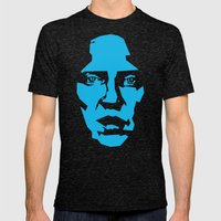 Walken Mens Fitted Tee Tri-Black SMALL