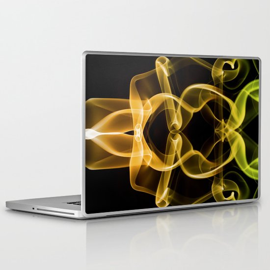 Smoke Photography #9 Laptop & iPad Skin