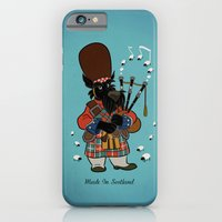 Scottie with a bagpipe iPhone 6 Slim Case