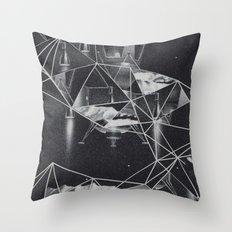 cosmico fantastico Throw Pillow