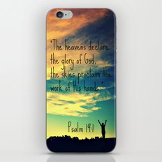 God's Handiwork iPhone & iPod Skin