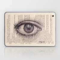 Eye In A Book Laptop & iPad Skin