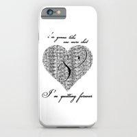 Cross my heart, cross my fingers. iPhone 6 Slim Case