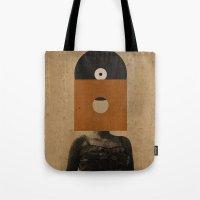 VINYL RECORD HEAD Tote Bag