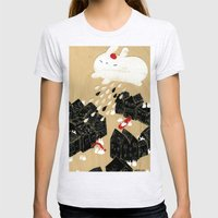 Rain Of Terror Womens Fitted Tee Ash Grey SMALL