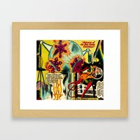 Unexpected - Part II Framed Art Print